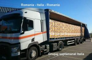 Efectuam grupaje de marfa din Franta si Germania catre Romania