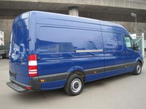 Transport marfa cu microbus sprinter Oradea Groningen