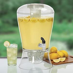 Dispenser limonada cu robinet 6 L