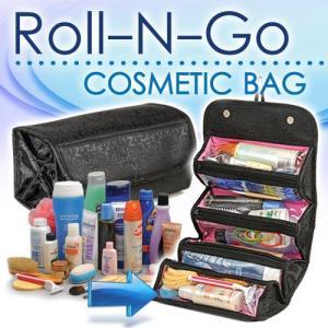 Geanta organizator pentru cosmetice make-up si accesorii Roll-N-Go