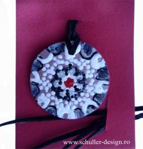 Medalion ceramica