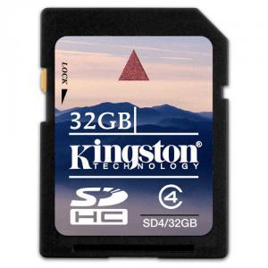 Card memorie kingston sd 32gb