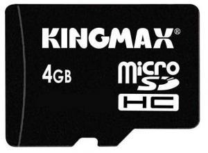Card memorie kingmax microsd 4gb