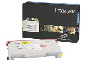 Toner lexmark 0020k1402 yellow