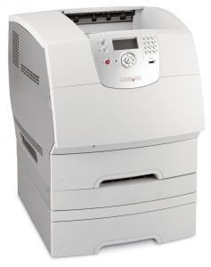 Imprimanta laser alb-negru Lexmark T644dtn
