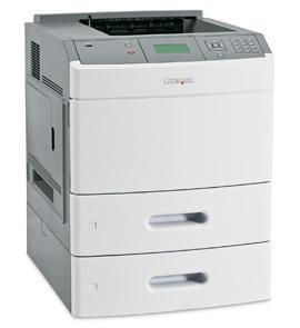Imprimanta laser alb-negru Lexmark T654dtn