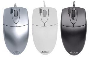 Mouse a4tech op 620d silver