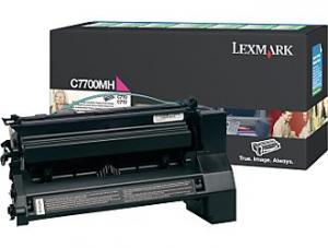 Toner lexmark c7700mh