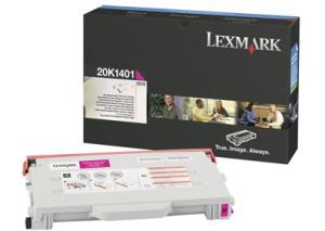 Toner lexmark 0020k1401 magenta
