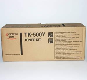 Toner kyocera tk 500y yellow