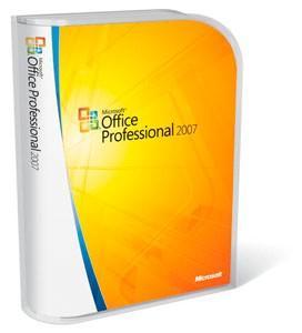 Microsoft office pro 2007 english