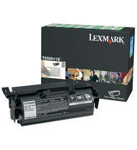 Cartus toner lexmark t650h11e black