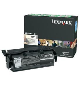 Cartus toner lexmark t654x11e black
