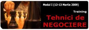 Tehnici de negociere-modul I-Programul Negociatorul