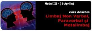 Training Limbaj non verbal, paraverbal si metalimbaj-modul III-Programul Negociatorul