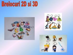 Breloc 2D si 3D