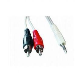 Cablu audio jack rca 5m