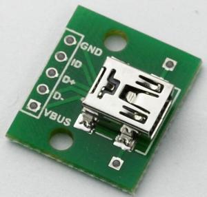 Adaptor mini USB la DIP