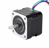 Motor stepper Nema 17 Bipolar 1.8deg 45Ncm (63oz.in) 1.5A 12V 42x42x39mm 4 Wires