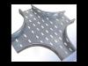 Piesa imbinare cruce pentru jgheab metalic h 35mm,latime 500mm