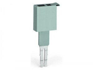 Test plug; 6 mm wide; Nominal current 24 A; for 0.08 mmA² - 2.5 mmA²; 2,50 mmA²; gray