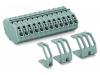 Feedthrough terminal block; 4 mma²; pin spacing 7 mm; 7-pole;