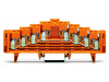 4-level same potential terminal block; for 35 x 7.5 mounting rail;