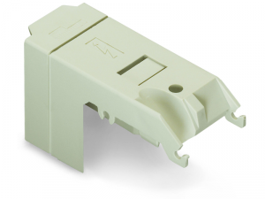 Protective cover; IP20; for high-current terminal blocks with 2 stud bolts M6; light gray