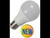 Bec cu led-uri - 9w e27 a60 termoplastic lumina alb cald 2700k ,
