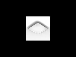 Plafoniera RS PRO LED cu senzor de miscare inalta frecventa,26 W,lumina rece,argintiu