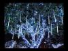 2016 stalactite(turturi) cu 120 becuri led  l.2.4m x h.0.6m, ip44,alb