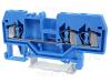 Clema sir industriala de nul,cu arc, pe sina, albastru TSKC2,5/3-K 800V 24A 0.08-2.5 mm2 3P