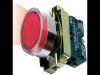 Buton de comanda  luminos, revenire cu led (cap+ etrier+modul lampa+