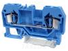 Clema sir industriala de nul,cu arc, pe sina, albastru TSKC4-K 800V 32A 0.08-4 mm2 2P