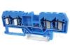 Clema sir industriala de nul,cu arc, pe sina, albastru TSKC4/4-K 800V 26A 0.08-4 mm2 4P
