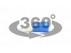 Papuc inelar izolat, cupru electrolitic stanat, albastru ksz16-10