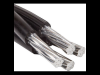 Cablu aerian de aluminiu cu izolatie de polietilena reticulata t 3 x