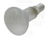 Lampa cu reflector, glob alb