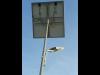 Stalp stradal fotovoltaic 27w