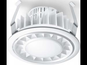Spot RS PRO DL LED cu senzor de miscare inalta frecventa,15 W,lumina calda,alb