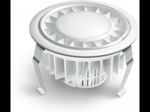 Spot RS PRO DL LED,15 W,lumina calda,alb