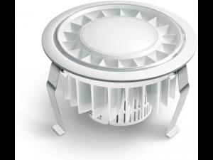 Spot RS PRO DL LED,15 W,lumina rece,alb