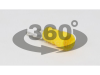 Papuc tip furca, izolat, cupru electrolitic stanat, galben sv6 6mm2,