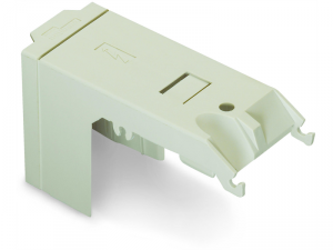 Protective cover; IP20; for high-current terminal blocks with 2 stud bolts M8; light gray