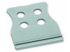 Strain relief plate; gray
