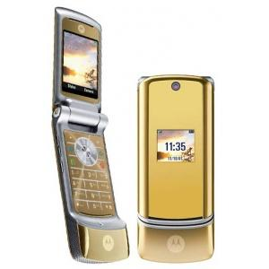 telefon mobil motorola krzr k1 gold motorola 9828 sc. Black Bedroom Furniture Sets. Home Design Ideas