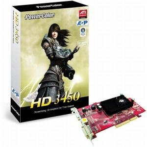 Placa video powercolor hd3450 512mb