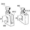 Clema suport pentru instalatii m8/m10