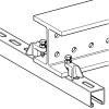 Clema suport pentru sine perforate