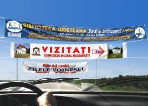 Print pe suport Banner